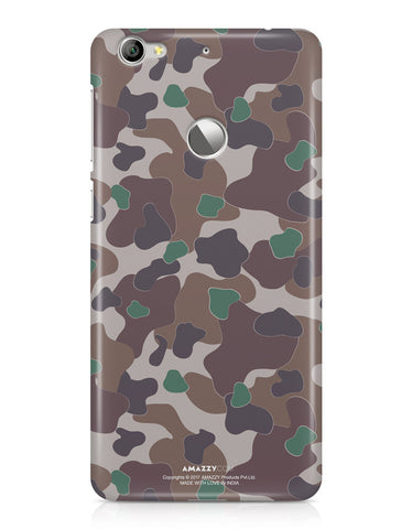 MILITARY CAMOUFLAGE PATTERN - LeEco Le 1S Phone Cover