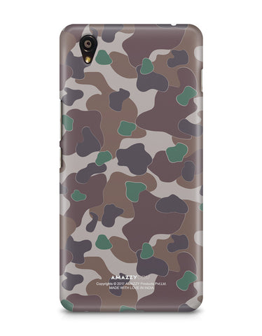 MILITARY CAMOUFLAGE PATTERN - OnePlus X Phone Cover