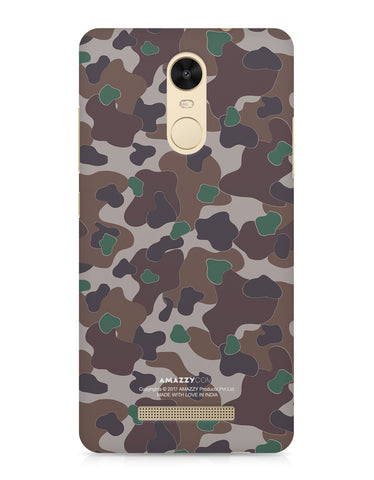 MILITARY CAMOUFLAGE PATTERN - Xiaomi Redmi Note3 Phone Cover View
