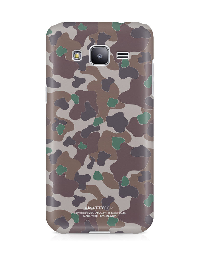 MILITARY CAMOUFLAGE PATTERN - Samsung J3 Phone Cover