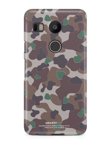 MILITARY CAMOUFLAGE PATTERN - Nexus 5x Phone Cover