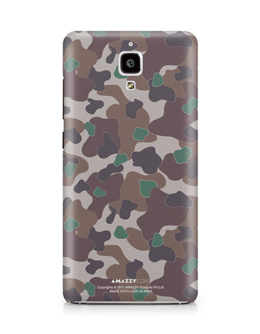 MILITARY CAMOUFLAGE PATTERN - Xiaomi Mi4 Phone Cover