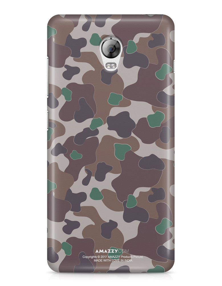MILITARY CAMOUFLAGE PATTERN - Lenovo Vibe P1 Phone Cover