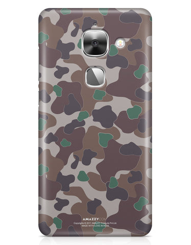 MILITARY CAMOUFLAGE PATTERN - LeEco Le 2S Phone Cover