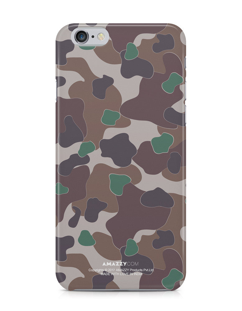 MILITARY CAMOUFLAGE PATTERN - iPhone 6+/6s+ Phone Covers View