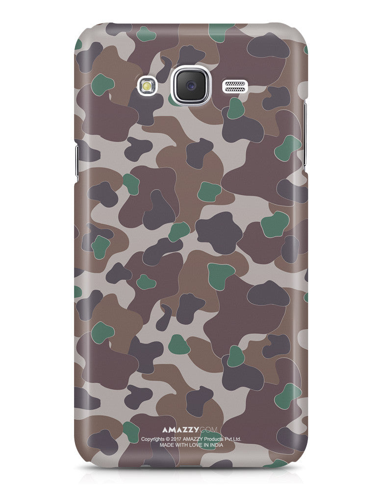 MILITARY CAMOUFLAGE PATTERN - Samsung J7 Phone Cover