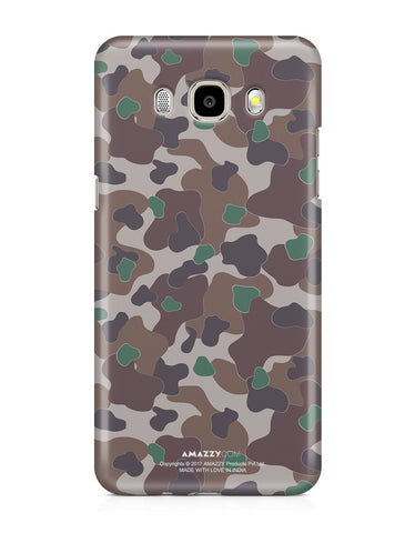 MILITARY CAMOUFLAGE PATTERN - Samsung J5 (2016) Phone Covers
