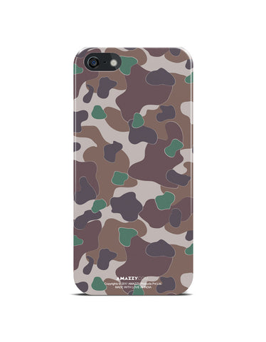 MILITARY Camouflage Pattern - iPhone 5/5s Phone Cover