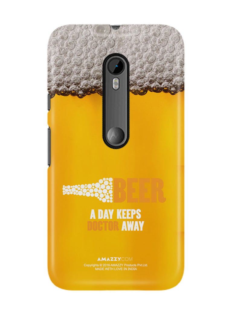 BEER - Moto G3 Phone Cover