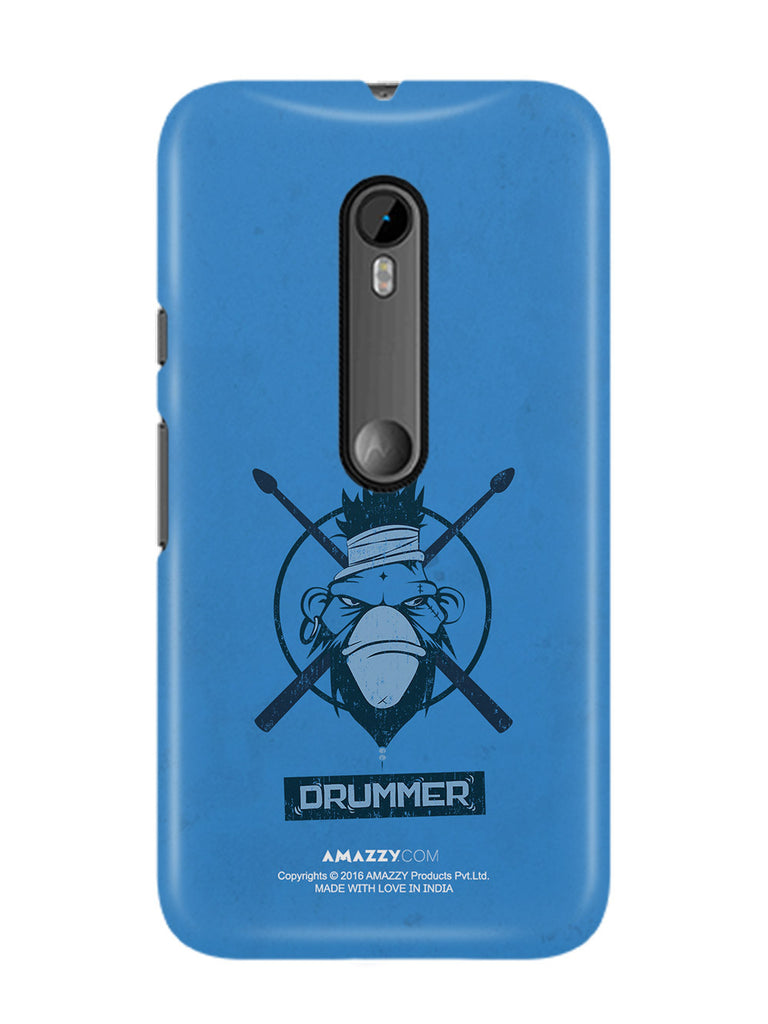 Drummer - Moto G3 Phone Cover