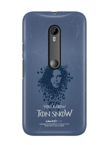 JON SNOW - Moto G3 Phone Cover