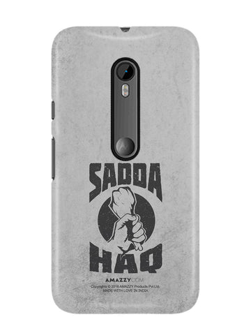 SADDA HAQ - Moto G3 Phone Cover