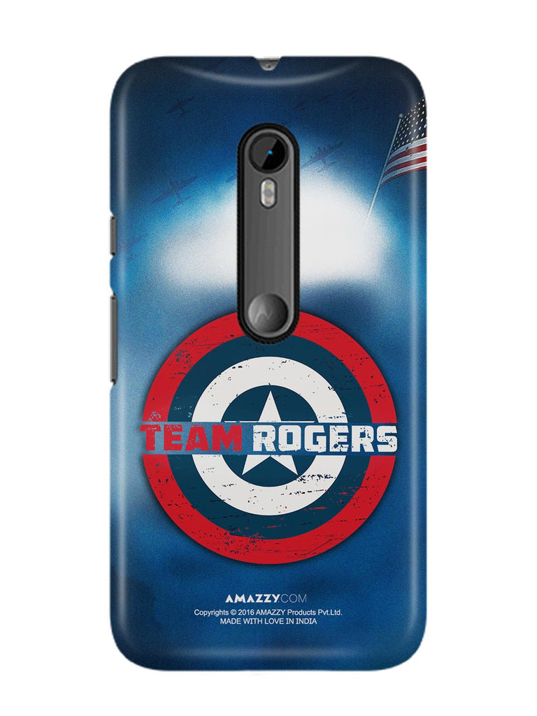TEAM ROGERS - Moto G3 Phone Cover View