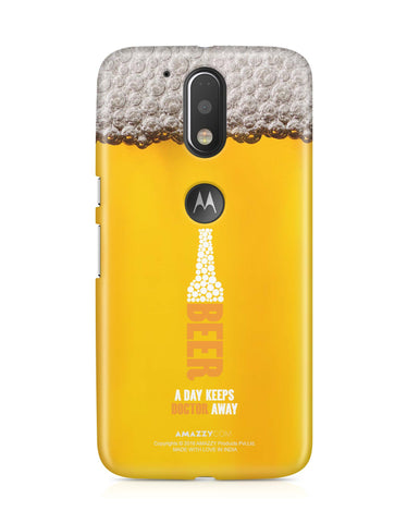 BEER - Moto G4 Plus Phone Cover