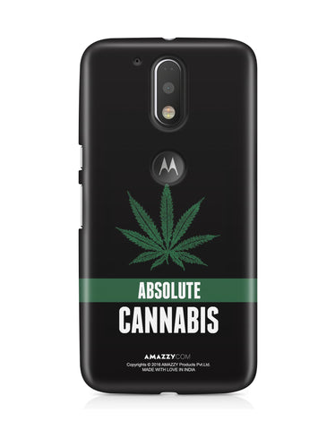 ABSOLUTE CANNABIS - Moto G4 Plus Phone Cover View