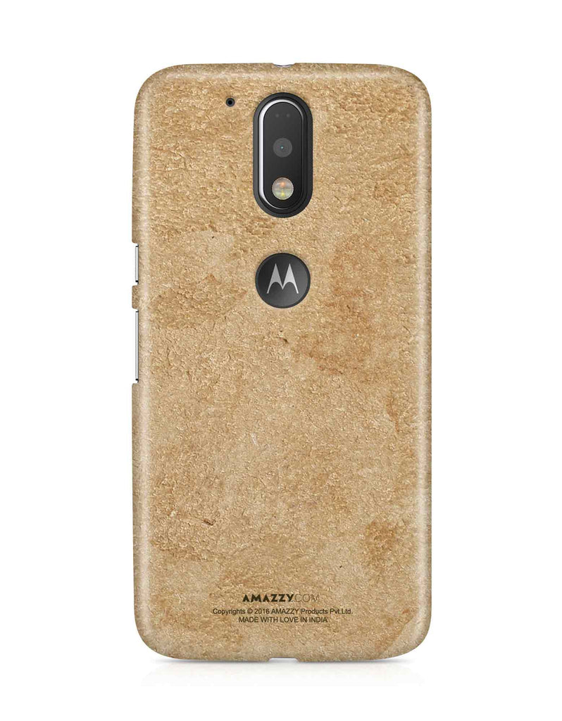 Gold Leather Texture - Moto G4 Plus Phone Cover View