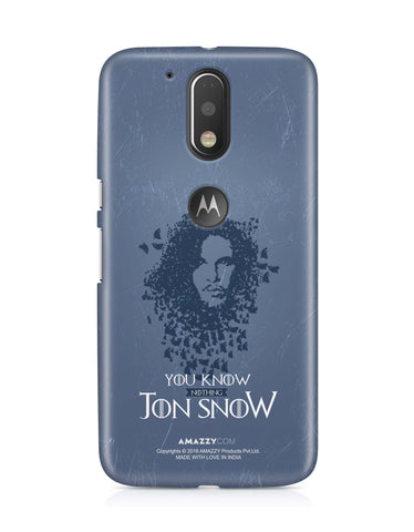 JON SNOW - Moto G4 Plus Phone Cover