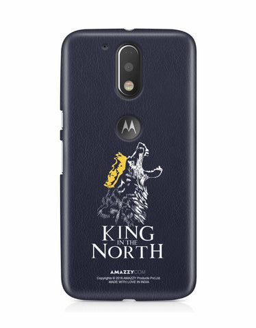 KING IN THE NORTH - Moto G4 Plus Phone Cover