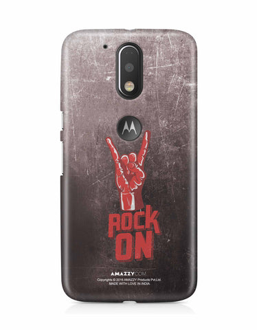ROCK ON - Moto G4 Plus Phone Cover View