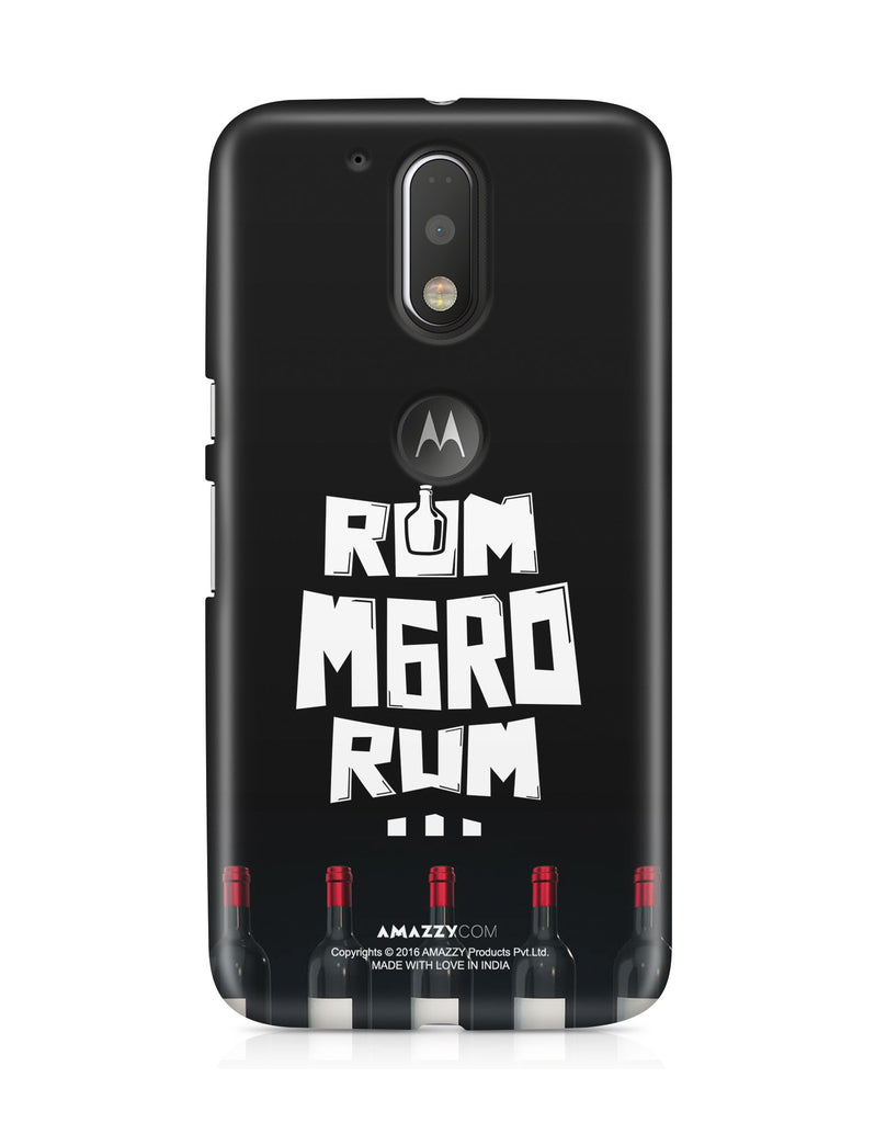 RUM MARO RUM - Moto G4 Plus Phone Cover