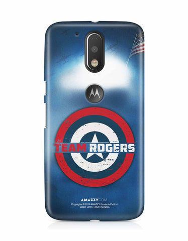 TEAM ROGERS - Moto G4 Plus Phone Cover View