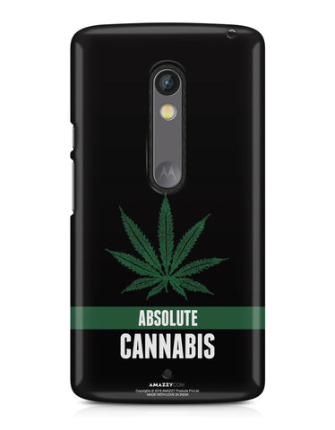 ABSOLUTE CANNABIS - Moto X Play Phone Cover View