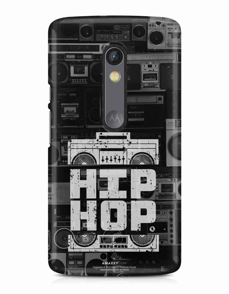 HIP HOP - Moto X Play Phone Cover View