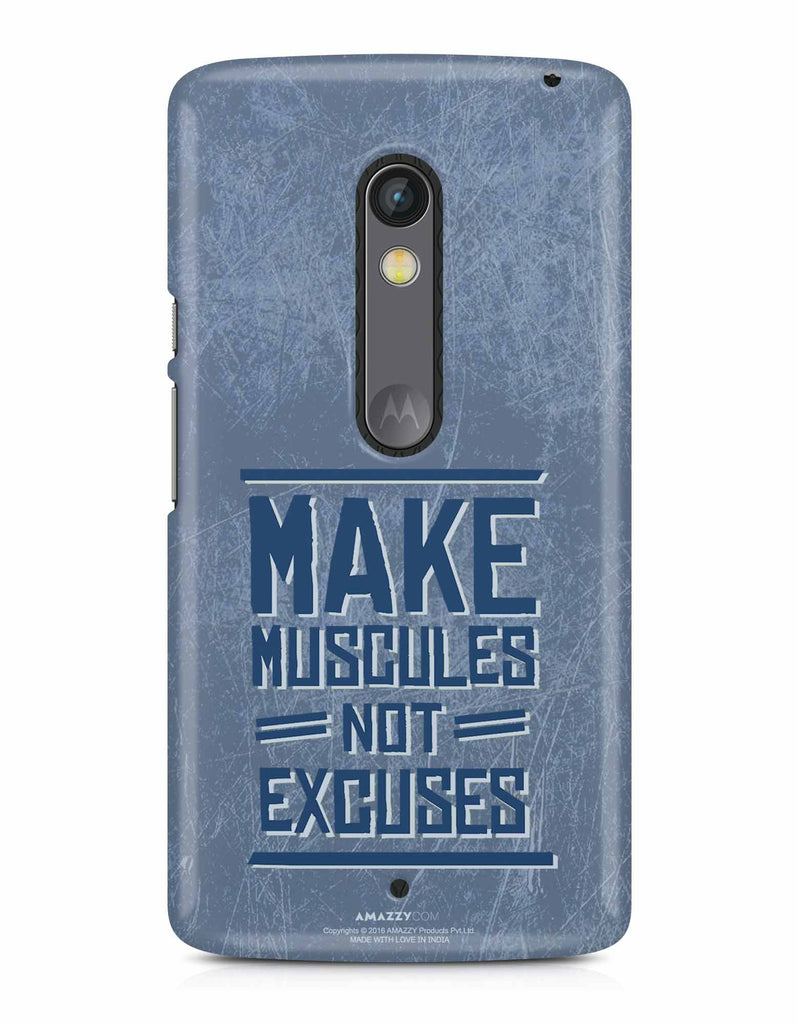 MAKE MUSCULE - Moto X Play Phone Cover View