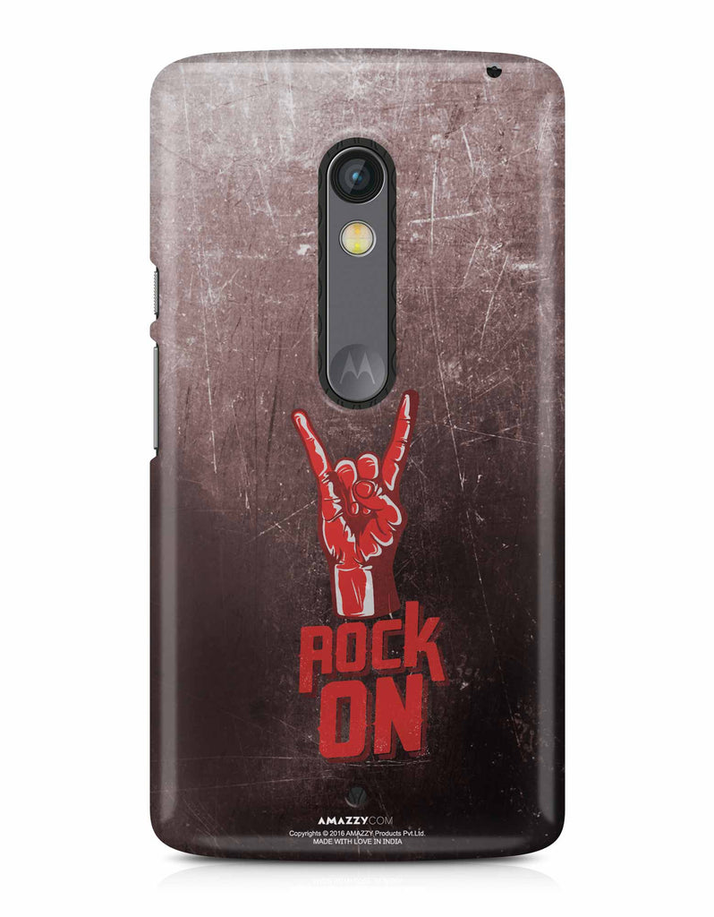 ROCK ON - Moto X Play Phone Cover View