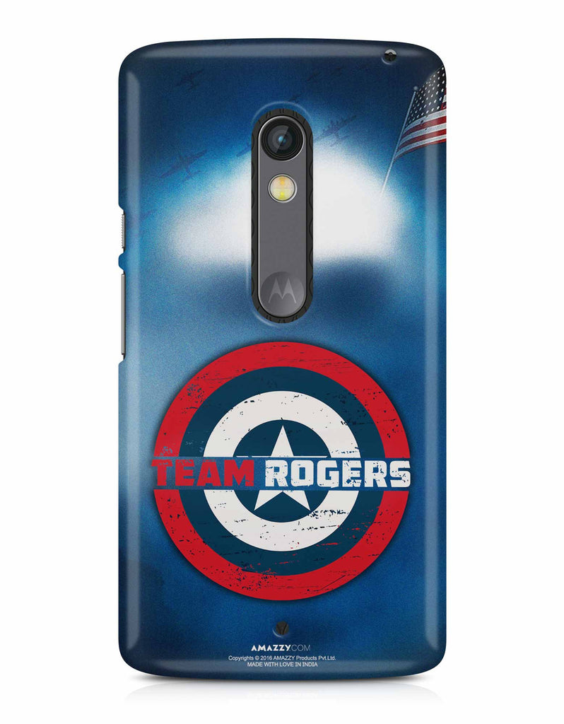 TEAM ROGERS - Moto X Play Phone Cover View