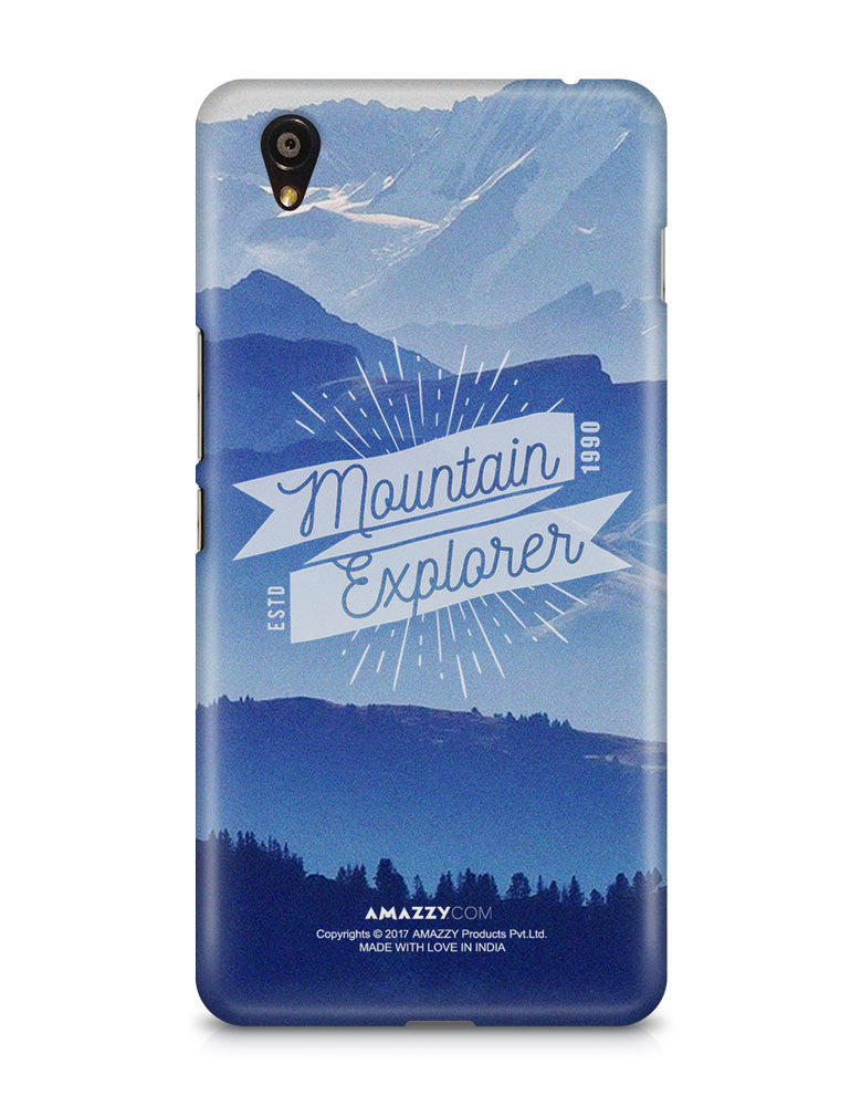 MOUNTAIN EXPLORER - OnePlus X Phone Cover