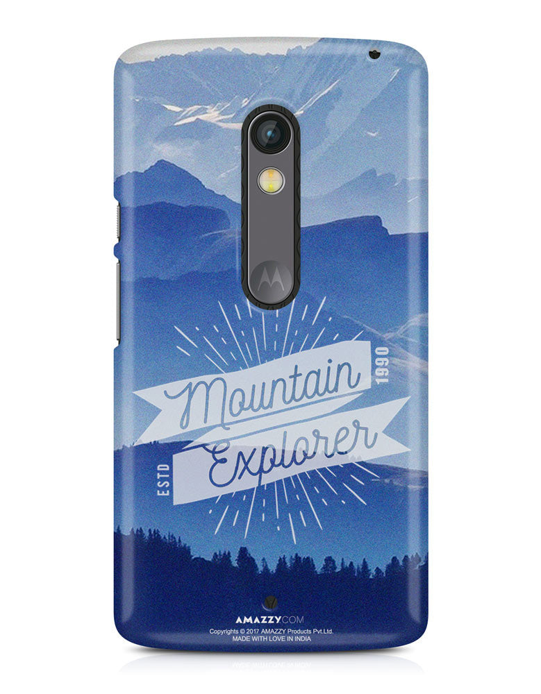 MOUNTAIN EXPLORER - Moto X Play Phone Cover View