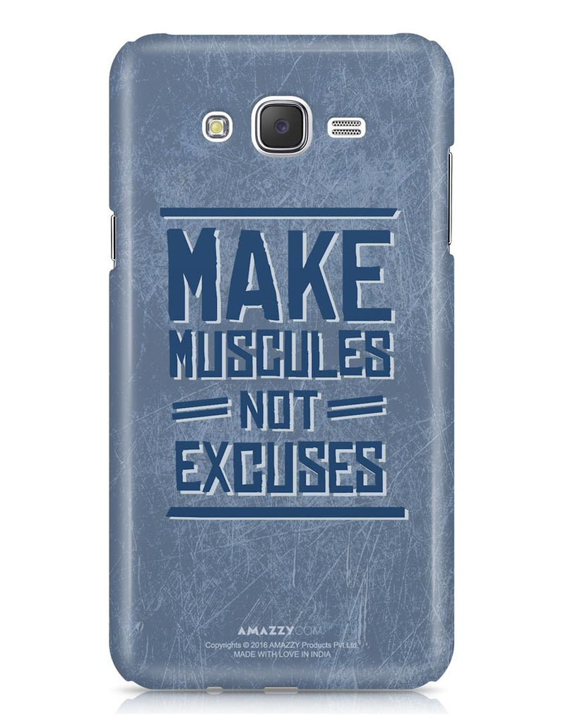 MAKE MUSCLES - Samsung J7 Phone Cover
