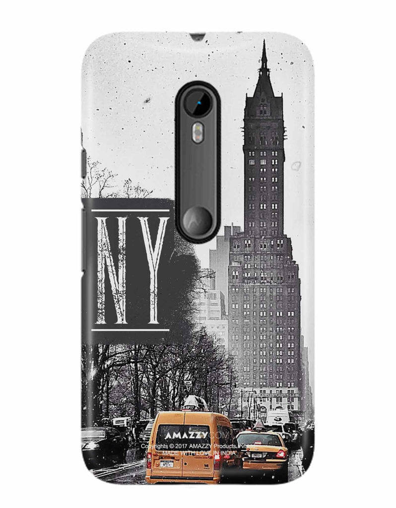 NY - Moto G3 Phone Cover View