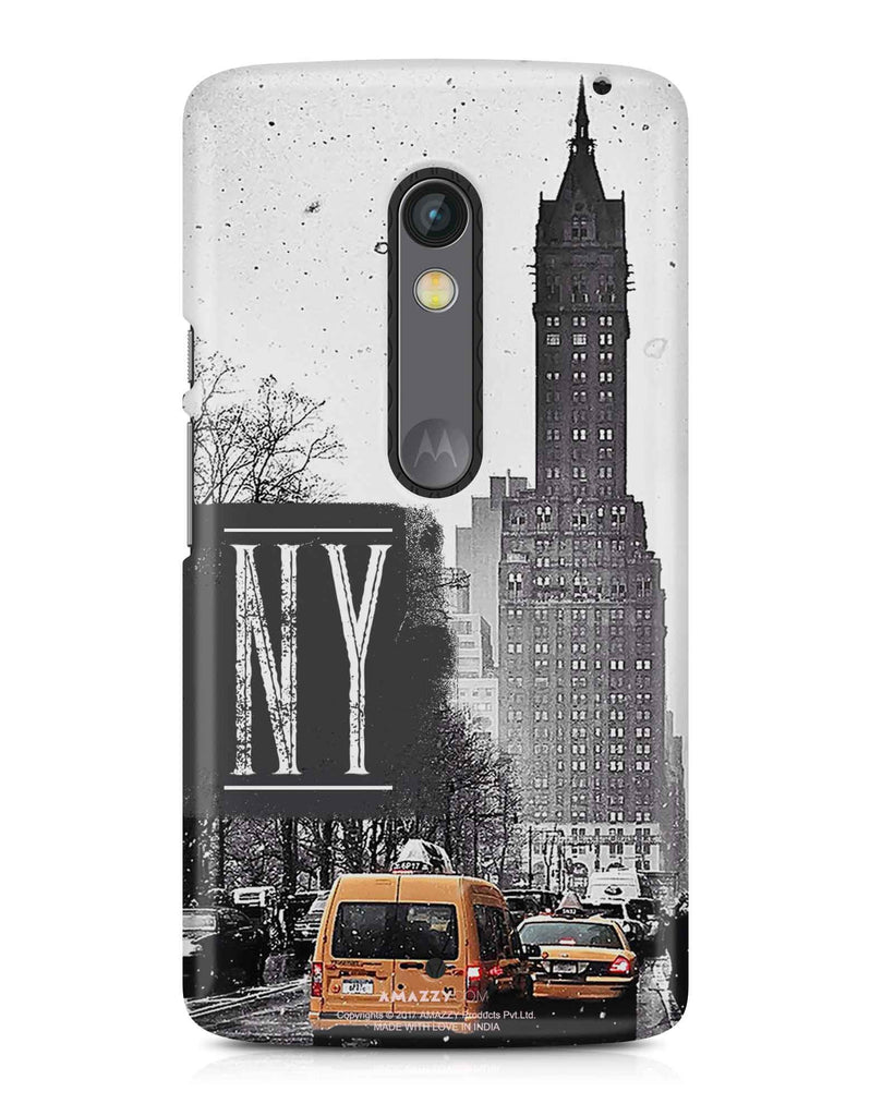 NY - Moto X Play Phone Cover View