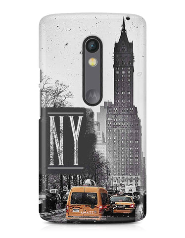 NY - Moto X Play Phone Cover