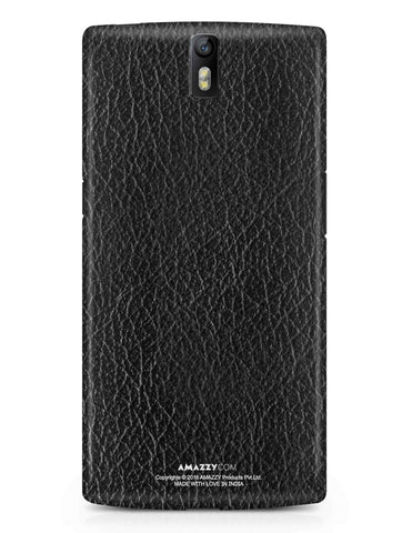 Black Leather Texture  - OnePlus 1 Phone Cover