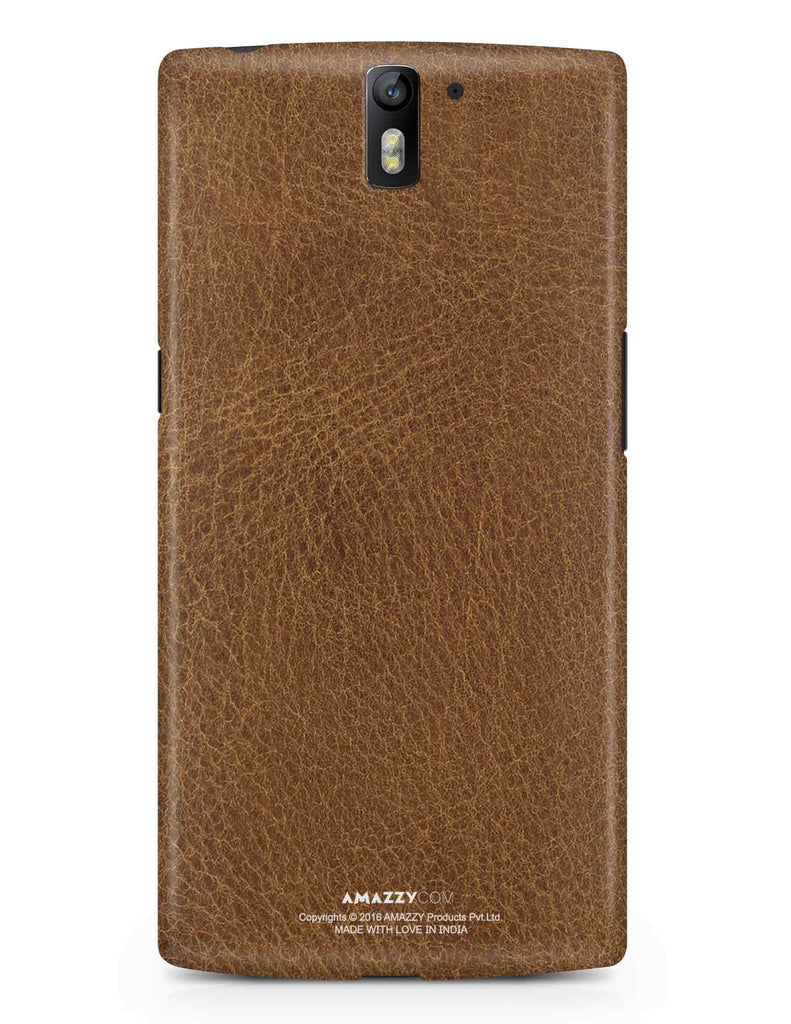 Brown Leather Texture - OnePlus 1 Phone Cover