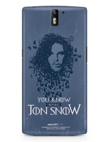 JON SNOW - OnePlus 1 Phone Cover