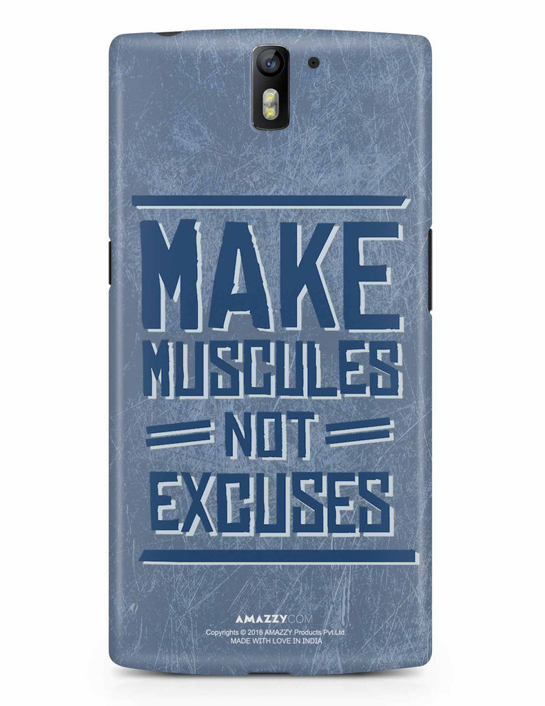 MAKE MUSCULE - OnePlus 1 Phone Cover