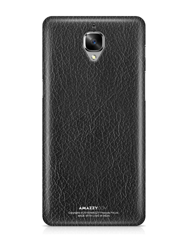 Black Leather Texture - OnePlus 3 Phone Cover