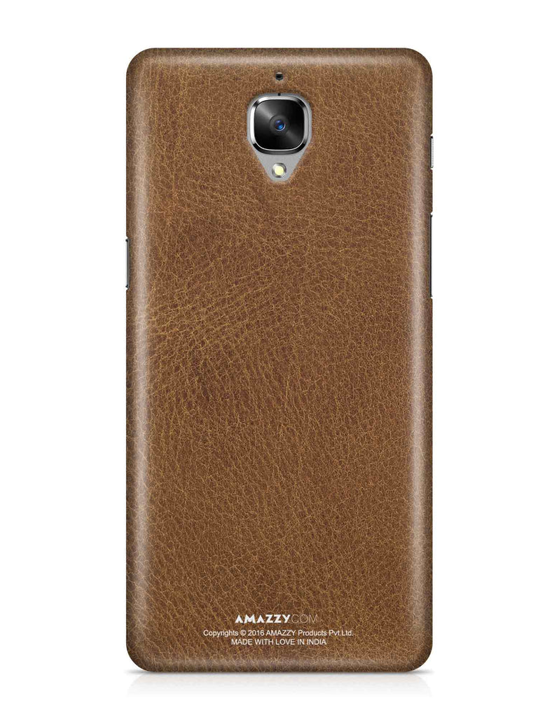Brown Leather Texture - OnePlus 3 Phone Cover
