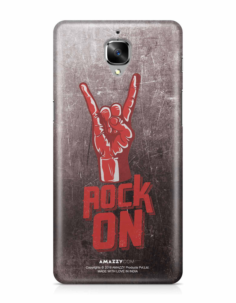 ROCK ON - OnePlus 3 Phone Cover