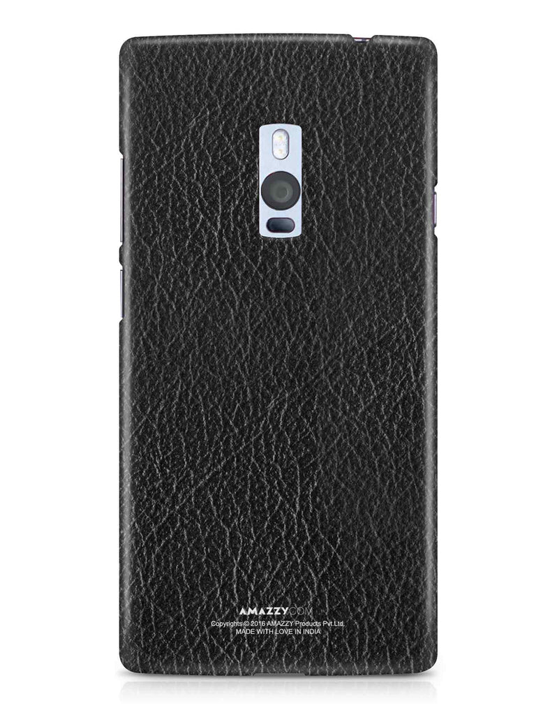 Black Leather Texture - OnePlus 2 Phone Cover