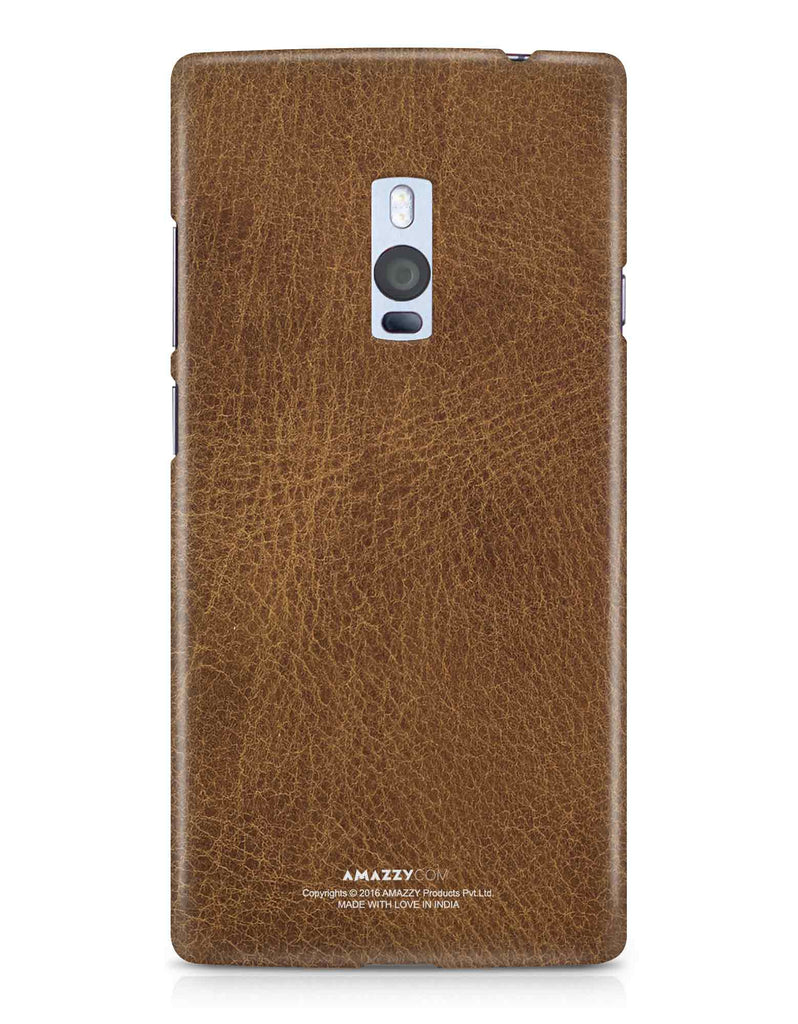 Brown Leather Texture - OnePlus 2 Phone Cover
