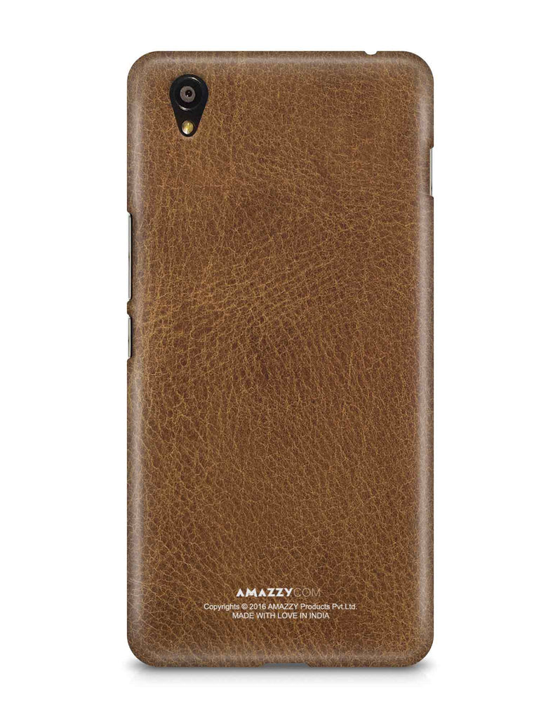 Brown Leather Texture - OnePlus X Phone Cover