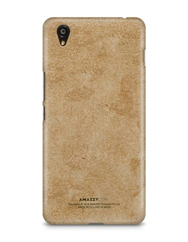 Gold Leather Texture - OnePlus X Phone Cover