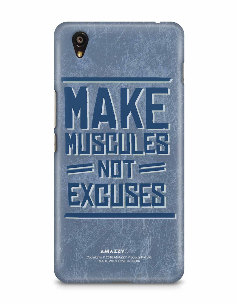 MAKE MUSCULE - OnePlus X Phone Cover