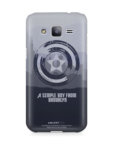 CAPTAIN AMERICA SHIELD - Samsung J3 Phone Cover