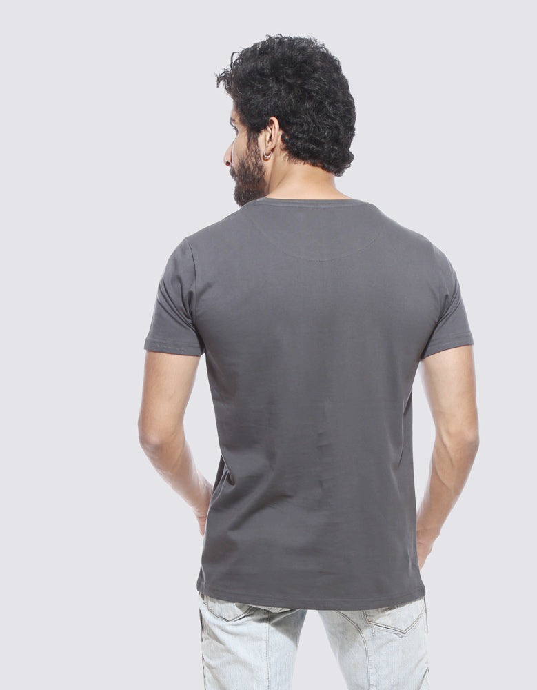 Rules - Charcoal Grey Cool Men's Half Sleeve T Shirt